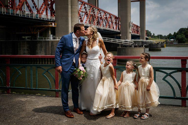 Bruidsfotografie in Spijkenisse en Zuidland
